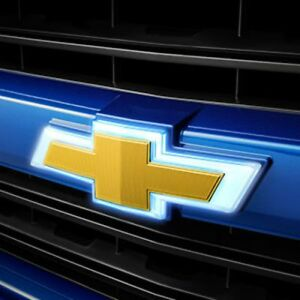 2016-2019 Chevrolet Silverado GM Illuminated Grille Bowtie Emblem 84129740