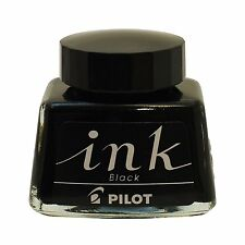 PILOT INK-30 -B 30ml Bottle Ink for Fountain Pen Black in Box