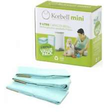 Korbell Mini Nappy Disposal 9L Liner Refills Only - 3 pack