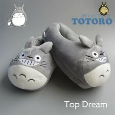 Totoro My Neighbour Anime Adult Slipper Shoes Plush Doll Soft Toy 11'' 28cm
