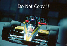 Patrick Tambay Renault RE60 Monaco Grand Prix 1985 Photograph 1