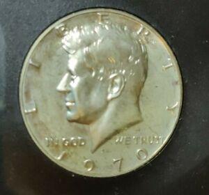 1970 s 1970-s 1970s proof Kennedy silver half dollar