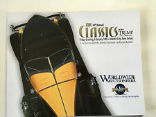 Worldwide Car Auction Atlantic City 2011 Trump Catalog 1966 Batmobile Shelby 427