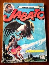 BD ESPAGNOLE - JABATO ( ALBUM COLOR ) - Tome 3 - PERSEGUIDOS - 1980 - BE