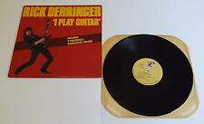 "Rick Derringer I Play Guitar 12"" Mini Album Vinyl LP - EX"