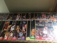 LOT OF 22 Vintage NBA HOOPS Action Photos ALL SEALED (Jordan, Bird, Magic, More)