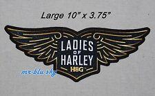 Harley Davidson - Large Harley Owners Group HOG Ladies Of Harley Patch