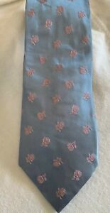 Stylish Barneys of New York 100% pure silk mens neck tie with Roses