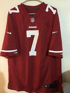 NFL San Francisco 49ers Colin Kapernick #7 Nike On Field Jersey Size Large