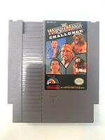WWF Wrestlemania Challenge - Nintendo NES Game Authentic - Tested - Works!