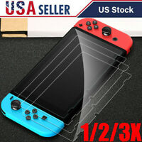 3 Pack For Nintendo Switch Lite Premium 9H Tempered Glass Screen Protector Guard