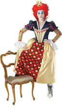 Official Alice in Wonderland Red Queen Hearts Fancy Dress Costume Teacher Book Small Size 8 - 10