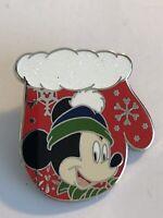 Christmas Mitten Mickey Mouse 2016 Disney Pin LE (B8)
