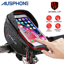 Outdoor Cycling Bike Bicycle Frame Pannier Front Tube Pouch Bag Phone Holder