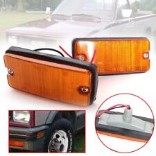 For 1983-1988 Isuzu Kbz Truck chevy Kb20 Kb26 Side marker Lamp Light Pair