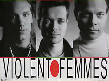 Violent Femmes 1991 Why Do Birds Sing Original Promo Poster