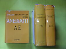 PALAZZI ENCICLOPEDIA DEGLI ANEDOTTI 3 VOLUMI - ED.CESCHINA - 1966