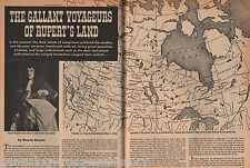 The Gallant Voyageurs of Rupert's Land - Canada + Family, Frobisher, Groseillers