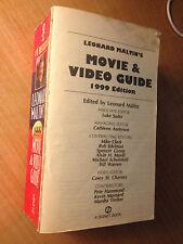 Leonard Maltin's Movie and Video Guide 1999 by Leonard Maltin (1998, S#513