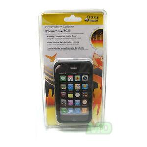 Original 100% Authentic Otterbox iPhone 3GS 3G Commuter Case Black Hard Cover
