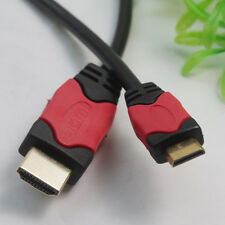 New HD HDMI to Mini HDMI Cable Gold Type A to Type C 6FT/1.83M