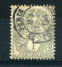 FRANCE 1900, timbre 107  type  Blanc, oblitéré