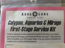 New listing Aqualung Repair Service Kit - 900002 Calypso Aquarius Mirage First Stage