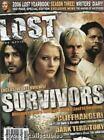 LOST OFFICAL MAGAZINE - SURVIVORS COVER - SEASON 3 - 2006 LOST YEARBOOK #6A