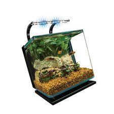 MarineLand Contour Glass Aquarium Kit with Rail Light 3-Gallon Free Shipping