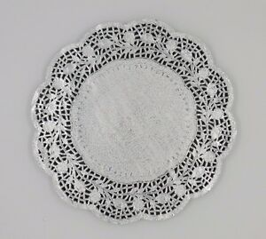 """Gold Foil Round Paper Lace Doilies size 5.5/"""" Party Wedding 14cm"""