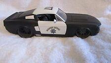 1 18 POLICE CAR CUSTOM MODIFIED TUNING 1967 SHELBY GT-500KR JADA DIE CAST