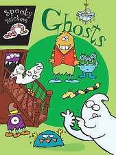 SPOOKY STICKERS:GHOSTS, New, N/A Book