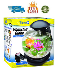 Tetra Waterfall Globe Kit 1.8 Gallons, Aquarium With Filtration