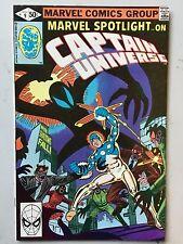 Marvel Spotlight #9 Captain Universe Bill Mantlo Steve Ditko Nov 1980 FN