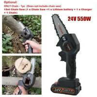 Portable Mini One-Hand Saw Woodworking Electric Chain / Saw Wood Cutter Cordless