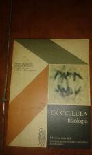 BERKALOFF BOURGUET FAVARD GUINNEBAULT LA CELLULA FISIOLOGIA I ED. MONDADORI 1970
