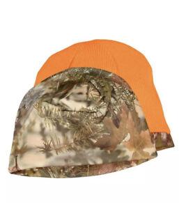 King's Camo Hunter Series Beanie Mountain Shadow Reversible Blaze Orange