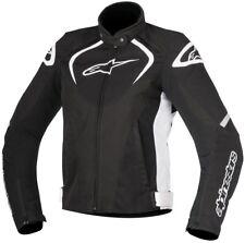 Chaqueta de moto Alpinestars Stella T-jaws WP XS color negro/blanco mujer