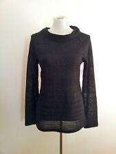 Effortless Style! Jana (Canada) size M black knit NWT