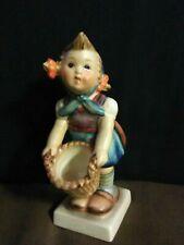 "Adorable Early Vtg.Goebel Hummel W.Germany ""Little Helper"" Girl Figurine #73"