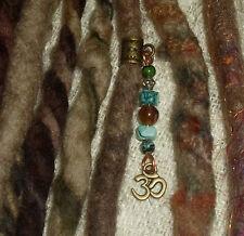 Uno Dreadlock Bead Ohm temible joyas joyería del pelo cuelgan Puño encanto Bohemio
