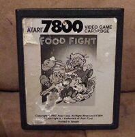 Food Fight Atari 7800 Game 1987  FREE SHIPPING VINTAGE