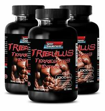 Narural Protodioscin - Tribulus Terrestris 1000mg - Super Hard Male 180 Pills 3B