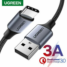 Ugreen USB 2.0 Type C Cable Fast Charger Data Cable for HTC Huawei LG Samsung S9