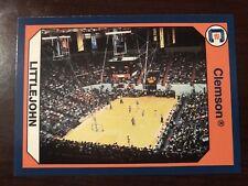 "1990 Clemson Tigers Collegiate Collection #135 - ""Littlejohn Coliseum"" - Basketb"