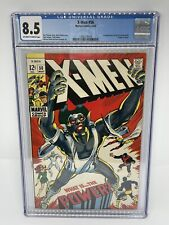 The X-Men #56 Living Monolith CGC 8.5 OW-W Pages