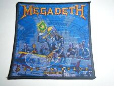 MEGADETH RUST IN PEACE WOVEN PATCH