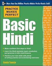 Practice Makes Perfect Basic Hindi by Taneja, Sonia (Paperback book, 2012)