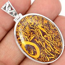 Coquina Jasper 925 Sterling Silver Pendant Jewelry MRMP151