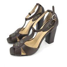 Cole Haan Women T-stap Sandals Block Heels Shoes Sz 7.5B